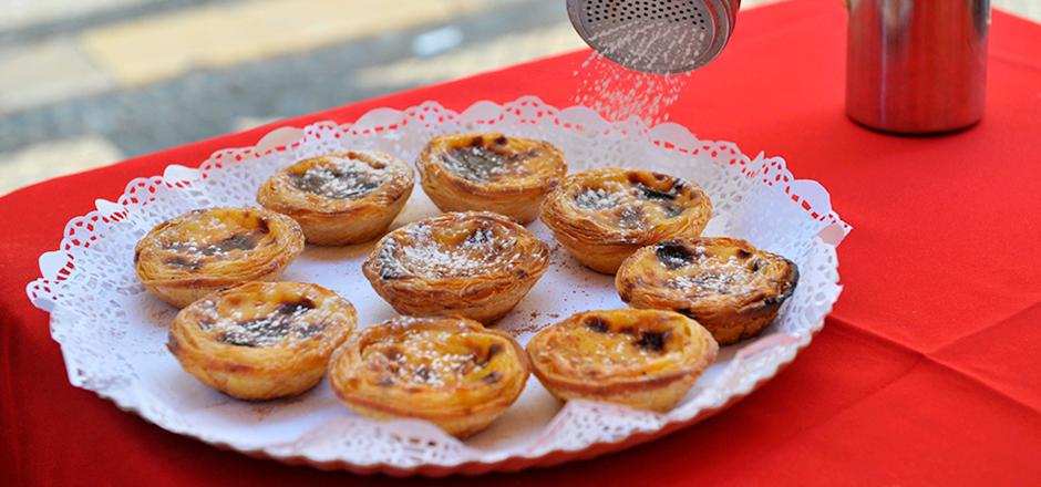 Best custard tarts in Lisbon
